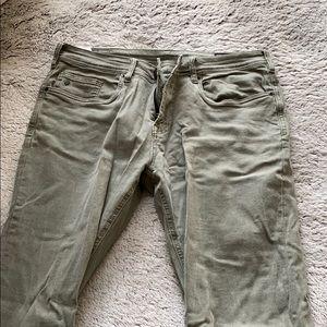 Buffalo David Bitton Green Jeans